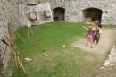Shooting range on Rabi castle